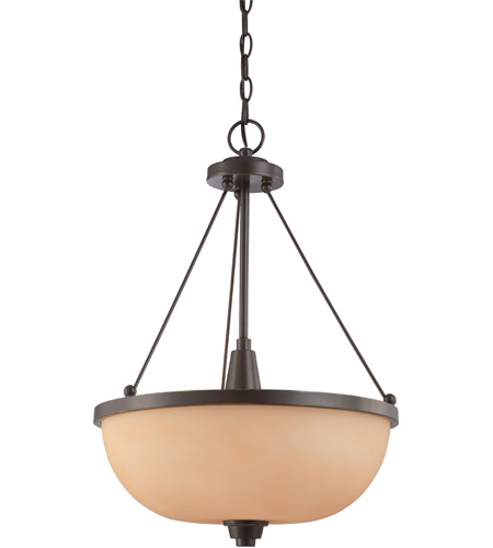Nuvo Lighting Helium 3 Light Pendant in Vintage Bronze 60/4207 photo
