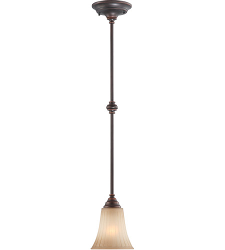 Nuvo Lighting Franklin 1 Light Pendant in Georgetown Bronze 60/4253 photo