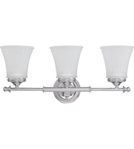 Nuvo 60/4263 Teller 3 Light 21 inch Polished Chrome Vanity & Wall Wall Light photo