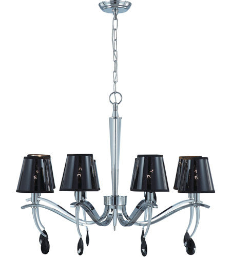 Nuvo Lighting Grace 8 Light Chandelier in Polished Chrome 60/4415 photo