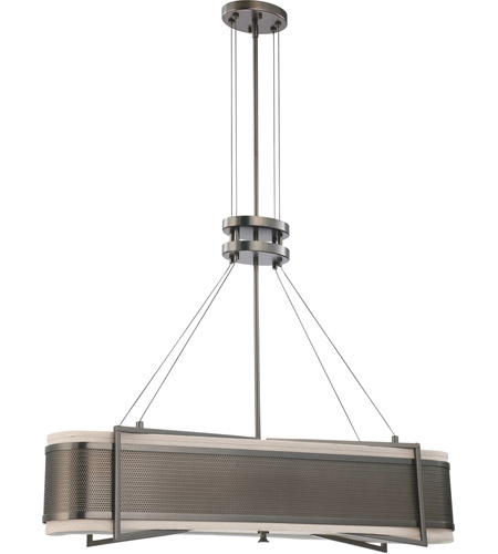 Nuvo Lighting Diesel 4 Light Pendant in Hazel Bronze 60/4435 photo