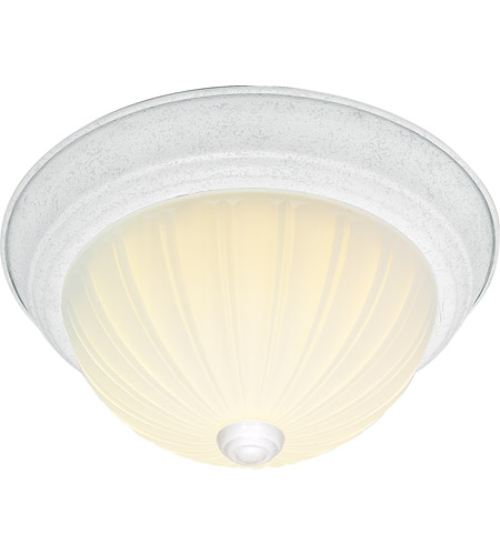 Nuvo 60/445 Signature 2 Light 15 inch White Flushmount Ceiling Light photo