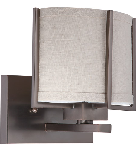 Nuvo Lighting Portia 1 Light Vanity & Wall in Hazel Bronze 60/4451 photo