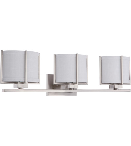 Nuvo Lighting Portia 3 Light Vanity & Wall in Brushed Nickel 60/4463 photo