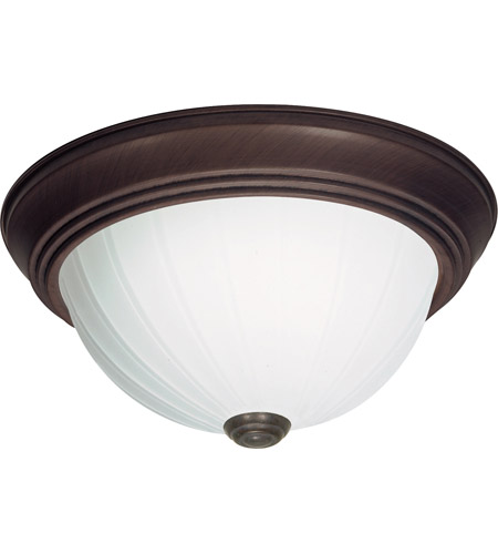 Nuvo 60/451 Signature 2 Light 15 inch Old Bronze Flushmount Ceiling Light photo