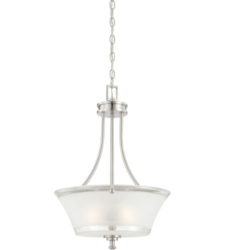 Nuvo Lighting Patrone 3 Light Pendant in Brushed Nickel 60/4526 photo