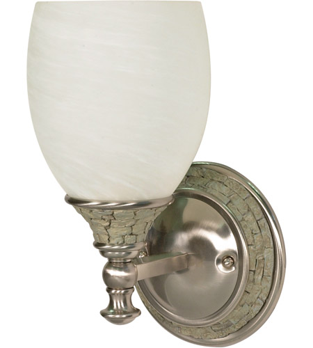 Nuvo Lighting Rockport Milano 1 Light Vanity & Wall in Brushed Nickel 60/453 photo