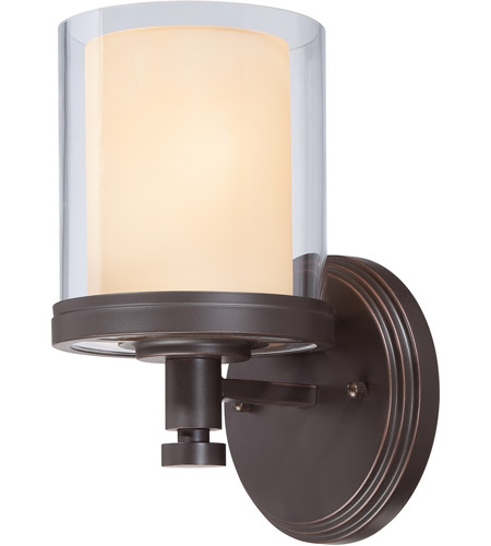 Nuvo 60//4641 Decker Brushed Nickel One Light Vanity Nuvo Lighting