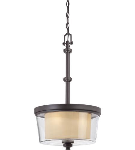 sc 1 st  Nuvo Lighting Lights & Nuvo Lighting Decker 3 Light Pendant in Sudbury Bronze 60/4546 azcodes.com