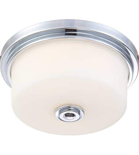 Nuvo Lighting Soho 2 Light Flushmount in Polished Chrome 60/4591 photo
