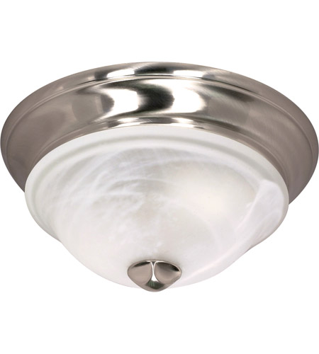 Nuvo 60/461 Triumph 1 Light 11 inch Brushed Nickel Flushmount Ceiling Light photo