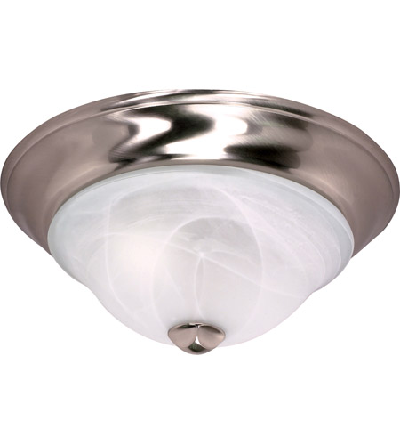 Nuvo 60/462 Triumph 2 Light 13 inch Brushed Nickel Flushmount Ceiling Light photo