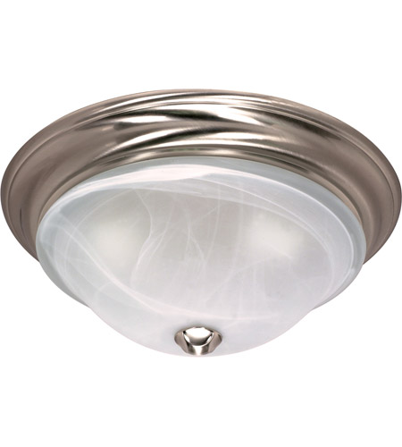 Nuvo 60/463 Triumph 2 Light 16 inch Brushed Nickel Flushmount Ceiling Light photo