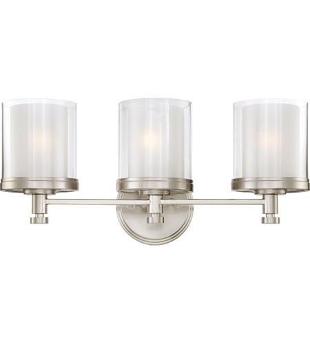 Nuvo Lighting Decker 3 Light Vanity & Wall in Brushed Nickel 60/4643 photo