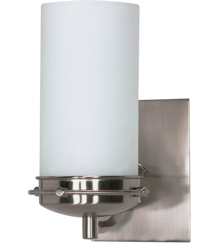 Nuvo 60/494 Polaris 1 Light 5 inch Brushed Nickel Vanity & Wall Wall Light photo