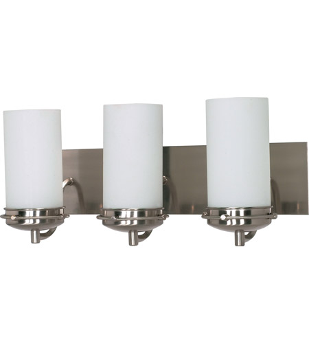 Nuvo 60/496 Polaris 3 Light 21 inch Brushed Nickel Vanity & Wall Wall Light photo