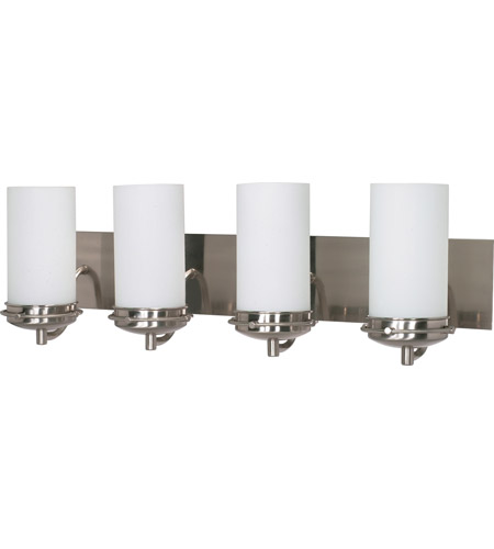 Nuvo 60/497 Polaris 4 Light 30 inch Brushed Nickel Vanity & Wall Wall Light photo