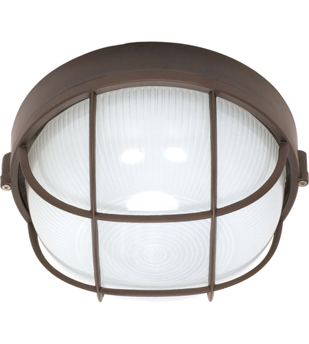 Nuvo Lighting Signature 1 Light Outdoor Wall Lantern in Architectural Bronze 60/519 photo