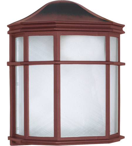 Nuvo 60/538 Signature 1 Light 10 inch Old Bronze Outdoor Wall Lantern photo