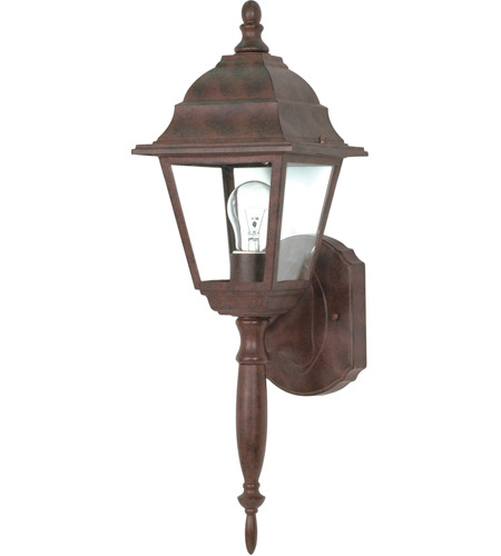 Nuvo 60/541 Briton 1 Light 18 inch Old Bronze Outdoor Wall Lantern photo
