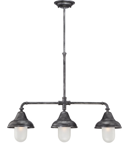 industrial track lighting industrial track lighting zoom regarding nuvo 605537 sutton light 32 inch industrial iron pendant ceiling photo