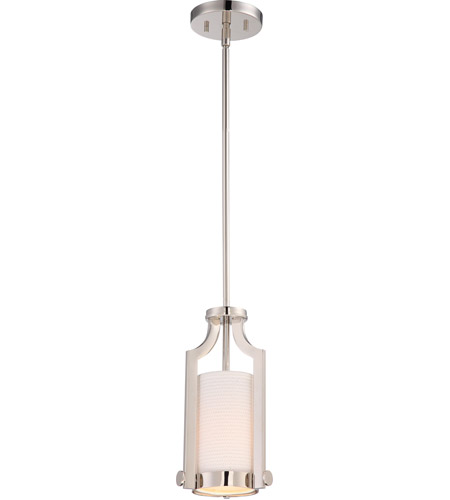 Meadow 1 Light 7 inch Polished Nickel Pendant Ceiling Light