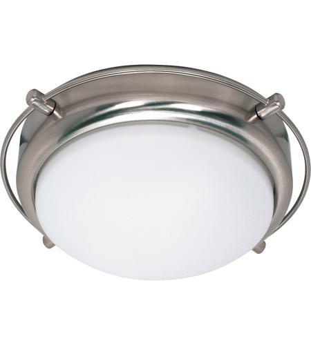 Nuvo 60 608 Polaris 2 Light 14 Inch Brushed Nickel Flushmount Ceiling