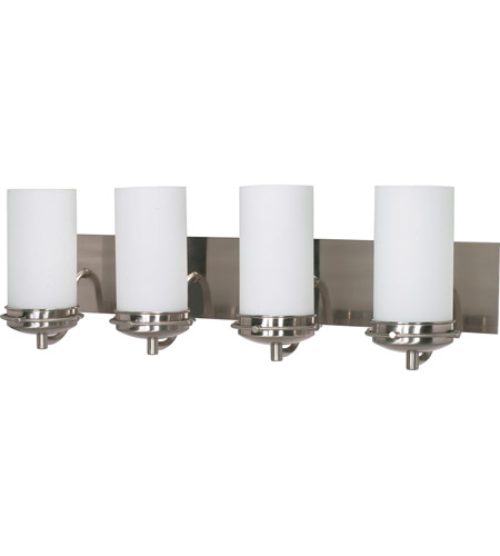 Nuvo 60/614 Polaris 4 Light 30 inch Brushed Nickel Vanity & Wall Wall Light photo