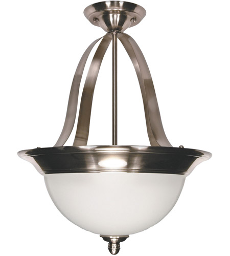 Nuvo 60/621 Palladium 3 Light 16 inch Smoked Nickel Pendant Ceiling Light photo