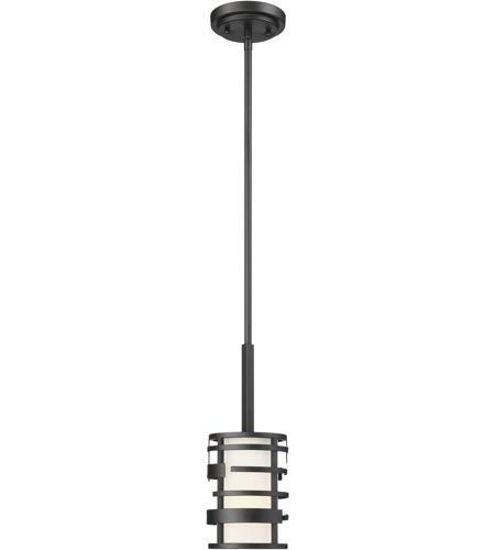 Nuvo 60/6432 Lansing 1 Light 5 inch Textured Black Pendant Ceiling Light