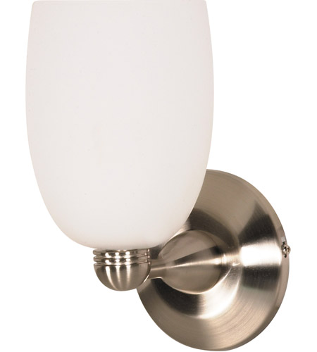 Nuvo Lighting Signature 1 Light Vanity & Wall in Brushed Nickel 60/692 photo