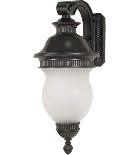 Nuvo Lighting Luxor 3 Light Outdoor Wall Lantern in Chestnut Bronze 60/879 photo