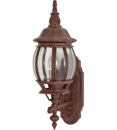 Nuvo Lighting Central Park 1 Light Outdoor Wall Lantern in Old Bronze 60/886 photo