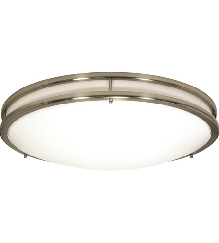 Nuvo Lighting Glamour 3 Light Flushmount in Brushed Nickel 60/900 photo