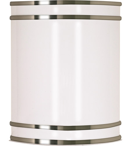 Nuvo 60/907 Glamour 1 Light 9 inch Brushed Nickel Vanity & Wall Wall Light photo