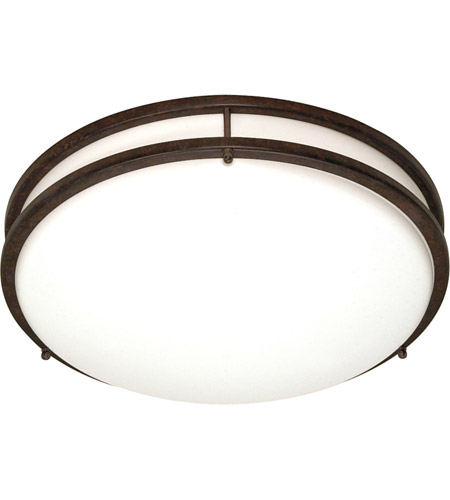 Nuvo Lighting Glamour 3 Light Flushmount in Old Bronze 60/909 photo