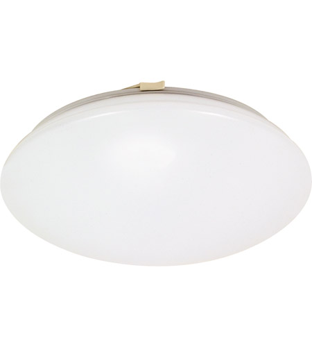 Nuvo 60/916 Crispo 1 Light 12 inch White Flushmount Ceiling Light photo