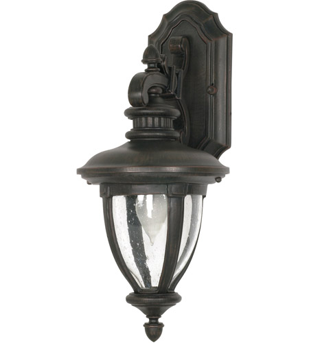 Nuvo Lighting Galeon 1 Light Outdoor Wall Lantern in Old Penny Bronze 60/952 photo