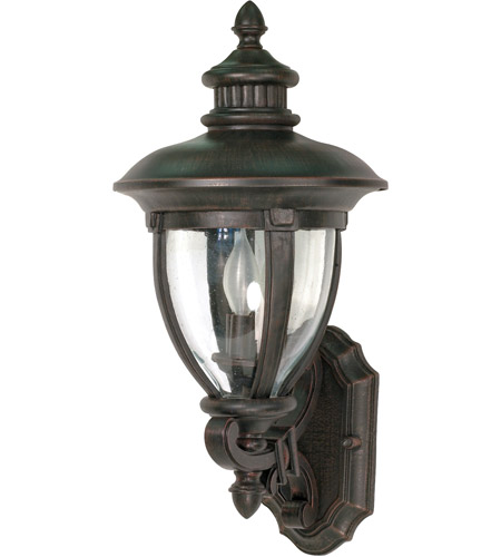 Nuvo Lighting Galeon 3 Light Outdoor Wall Lantern in Old Penny Bronze 60/954 photo