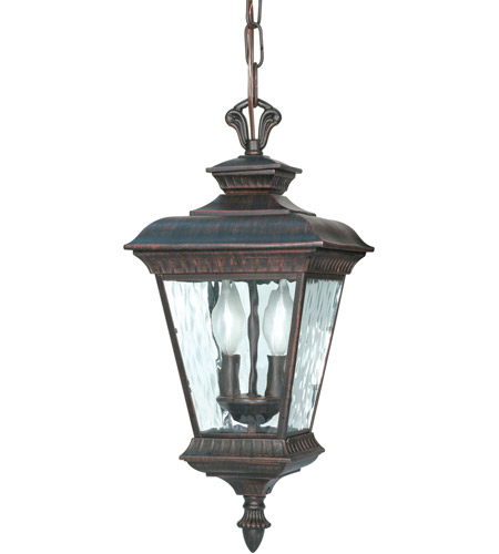 Nuvo Lighting Charter 2 Light Outdoor Hanging Lantern in Old Penny Bronze 60/973 photo