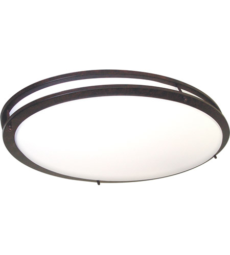 Nuvo 60/999 Glamour 2 Light 18 inch Old Bronze Flushmount Ceiling Light photo
