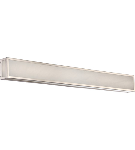 Nuvo 62 897 Crate Led 36 Inch Brushed Nickel Vanity Light