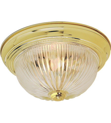 Nuvo sf76091 ribbed swirl glass 2 light 11 inch polished brass nuvo sf76091 ribbed swirl glass 2 light 11 inch polished brass flush mount ceiling mozeypictures Image collections