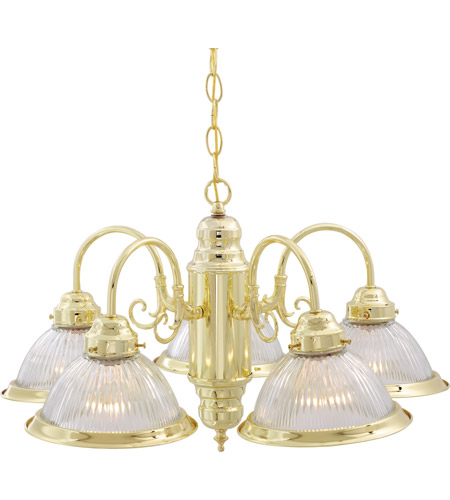 Polished Brass Signature Chandeliers