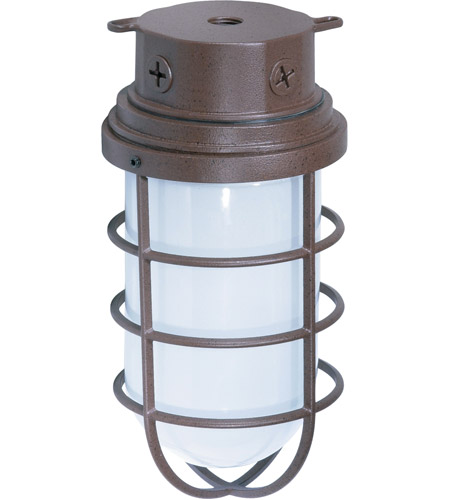 Nuvo Lighting Industrial Style 1 Light Outdoor Ceiling