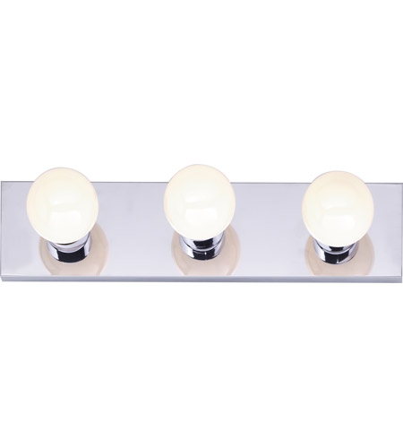 Nuvo Lighting Signature 3 Light Bath Light in Polished Chrome 77/192 photo