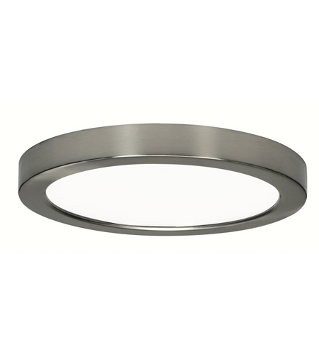Nuvo S9337 Blink LED 9 Inch Brushed Nickel Flush Mount Ceiling Light, Round