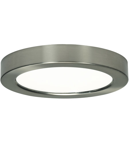 Nuvo S9349 Blink LED 7 Inch Brushed Nickel Flush Mount Ceiling Light, Round  Photo