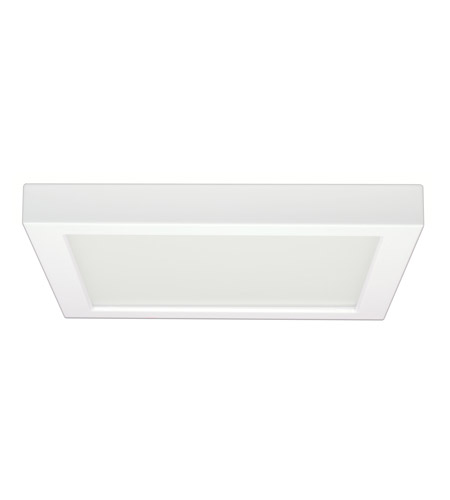 Nuvo s9363 blink led 9 inch white flush mount ceiling light square mozeypictures Image collections