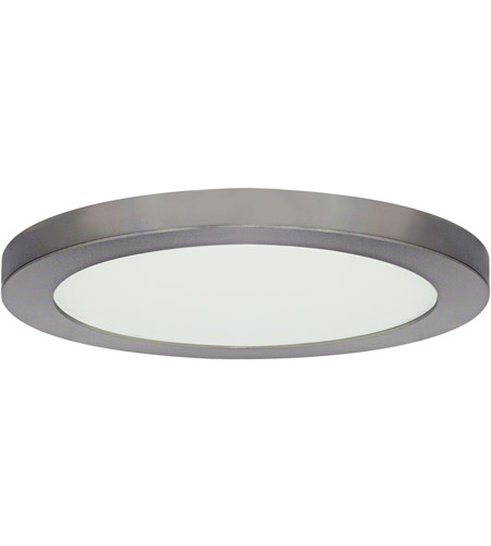 Exceptional Nuvo S9651 Blink LED 13 Inch Brushed Nickel Flush Mount Ceiling Light, Round